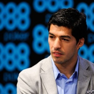 Luis-Suarez-New-Ambassador-for-888poker-Press-Conference