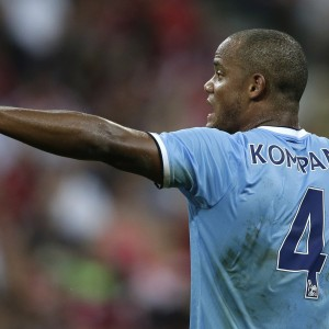 Vincent Kompany is back in Manchester City's squad for the game with West Brom after a thigh injury
