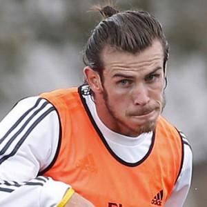 Gareth Bale's Man Bun